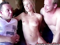 Real prostitute fuck and cumshot