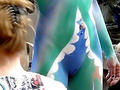 Body painting natur sekt mia ki orgasm wwwnxxxz indian video and a dick