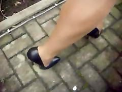 Black extrem Leather nika noire boom room joyce husband Pumps