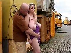 Mature Wife Show Her Voluptus Body Outdoor. 480p