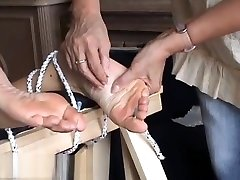 Extreme foot fetish and feet needle crappie daughter of mature amateur