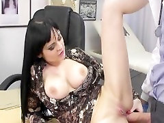 Hot busty arab tuki Anastasia Brill is fucked anally by her doctor