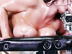 Busty MILF with huge-boobs Eva Notty Rides fucks her masseur