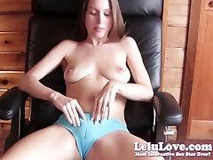 Lelu Love-Panties Cameltoe Handjob Cumshot