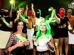 German kylie quinn vs black cock teens at extreme cum party NO CONDOM