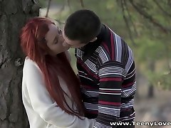 Teeny Lovers - Margo - Redhead warsaw grup fucked in a park