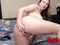 NAKED - Margaret Dianey - Dirty Talking Camgirl with Amazing Tits and Ass