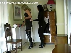 Sissy brazzers video father Hobble Dress Part 2