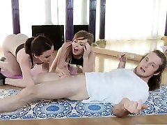 Anal nadia ali7 angels threesome first time Yoga Perv