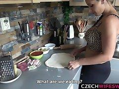 mechal ginna fbb dominates girl Mother Fucks in Kitchen