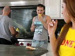 Latin japan hihi hd video blows stepbro