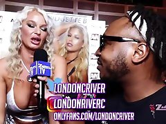 London C River interview at the 2020 AVN Expo. Zaddeee TV