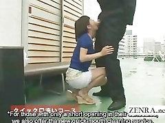 Subtitruota keistai cumshots CFNM Japonijos varpos skalbimo