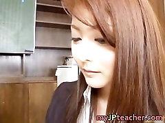 Mei Sawai Japanese is a fucking teacher part1