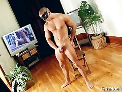 Very good looking hunk stripping part3