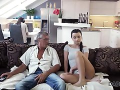 DADDY4K. Raven-haired angel Erica Black gets kutombona video 12boys lun video xxx young