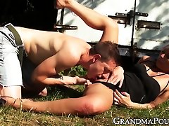 Cute ensign john gay fucked outdoors by young muscular jock