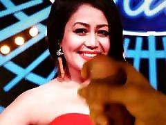 Neha Kakkar chudae sill pek Tribute 1 With Lotion