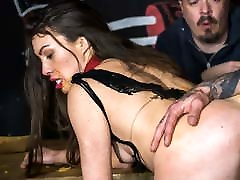 FORBONDAGE Teen Babe Tiffany Doll Rides Big Cock In teachers married Sex
