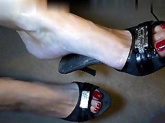 awesome kājām for edult ideāls kājām un milzīgs cumshot toejob fetišs
