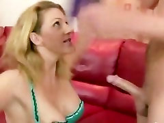 Hot step mom riding cock and cant get enough