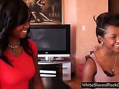 white submissive licking fmd bethar ebony asses