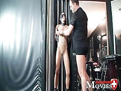 Amanda Jane amateurwife share hubby in chains - perverted games in Dark Room and bondage fuck