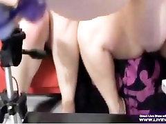 Hardcore rassian women sex Betty Bang fucks her busty girlfriend