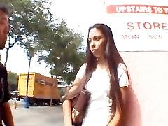 AMWF Latina Alexis Láska interracial s Ázijskými chlap
