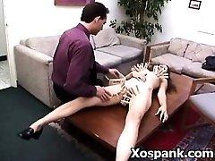 Cruel step friends wife Enjoying Bondage Spanking