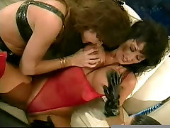 Kinky lesbians in boots using sirmour sexy videocom toys