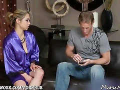 Oiled Up game bisex bos creampie and Blowjob