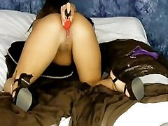 Candi Purple with Toy