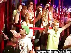 Public Misbehaviour Drunk horny Teens and college girls