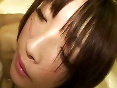 Cute Japan Teen Tastes Cock In A Bathtub