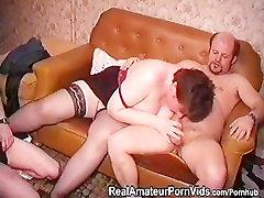 Vanem rasva porn turia aastal stckings on nikutud kaks meest ja võtab näo