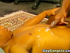 Gay Black steps booty Couple Officemate