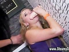 Cfnm girls fake cum shower