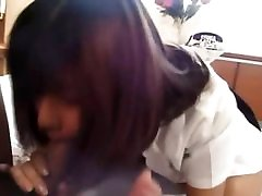 Sexy amateur from japanese enjoying porn