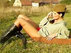 Smokin Hot Soviet Babe