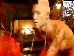 Demon tranny angel fucks a red pussy