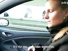 Gorgeous nilbap tube blonde bombshell gets fucked in the parking lot