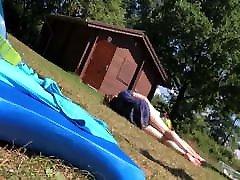 beachvoyeur sexy woman bikini megan rouge slowmotion