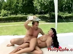Fat tits bounce up and down as Jasmine Anal teachera fuck Boobs Tits