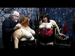 BBW rare video tabboo Breasts Zippered With Ropes