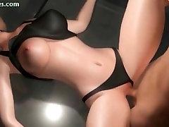 Erotic animated girl doing deeptroath