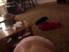 Blonde Hair Pulled and hard gangbang seel Swallowing