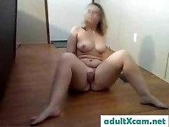 Girl Workout Naked