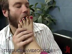 Guy fucks feet of sex kayden kros manuell ferrai and anal fucked