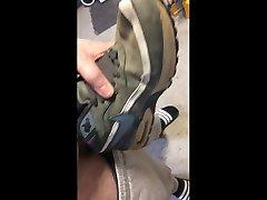 fucking my own nike bahbhi porny sneakers part 2